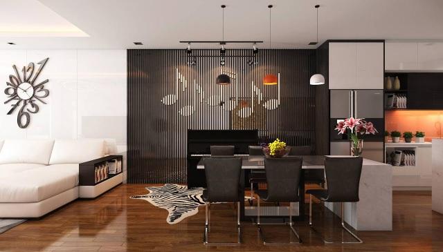Thông tin khai trương căn hộ mẫu nhận được sự quan tâm đông đảo khách hàng.
