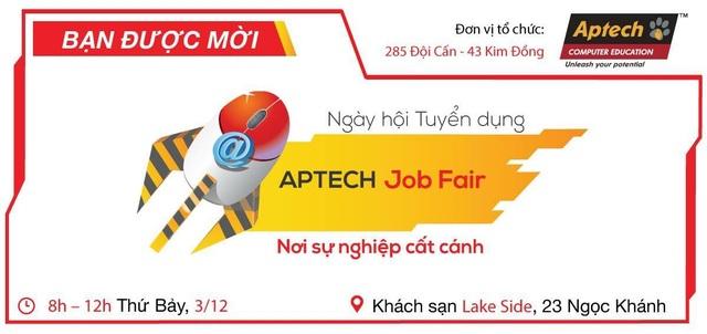 APTECH Job Fair 2016 - Nơi chắp cánh cho sự nghiệp của sinh viên CNTT - 1