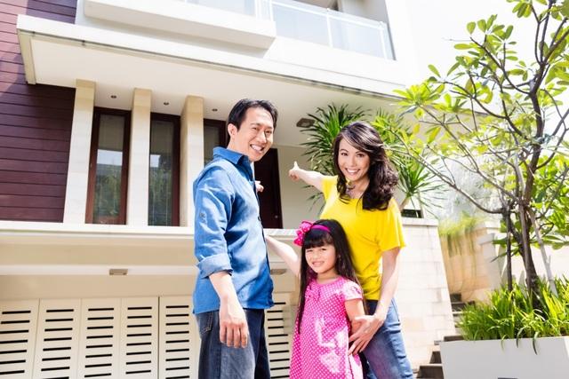 Phần thô vững chắc thì ngôi nhà mới có thể chở che cho cả gia đình.