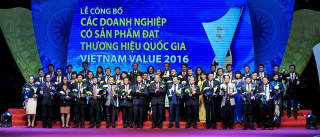 Thương hiệu Quốc gia Việt Nam 2016 vinh danh 88 doanh nghiệp tiêu biểu - 1