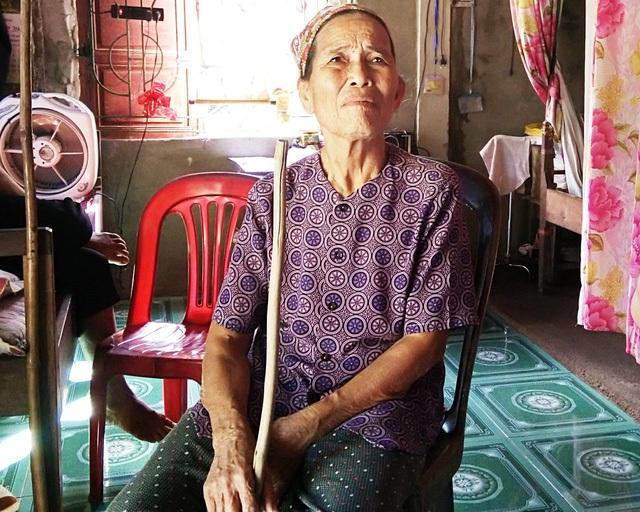 Bà Dương Thị Giót (83 tuổi, mẹ ông Thanh).