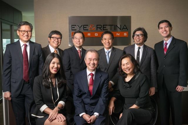 Đội ngũ y, bác sĩ tại Eye & Retina Surgeons