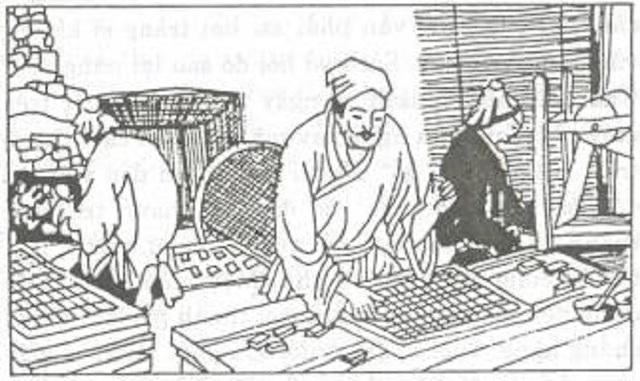 Nghề in xưa của Trung Hoa