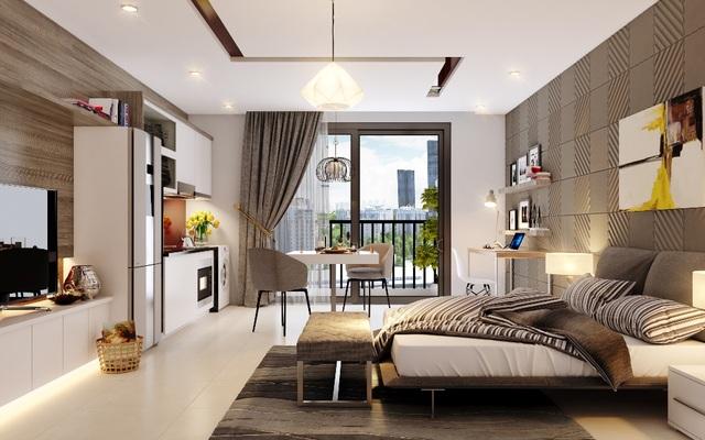 """D'.Capitale tung ra dòng sản phẩm căn hộ SOHO khiến giới đầu tư """"không thể ngồi yên"""" bởi những ưu điểm vượt trội."""