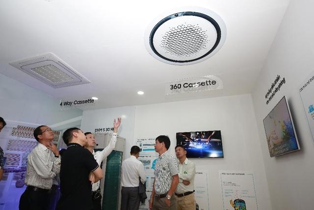 Nhờ ưu điểm nổi trội, giải pháp điều hòa không khí toàn diện của Samsung thu hút các nhà thầu, nhà đâu tư công trình