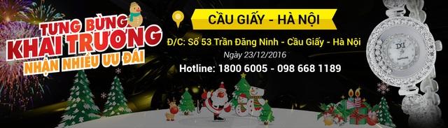 Đồng hồ chính hãng Đăng Quang khai trương Showroom số 57 tại Cầu Giấy - 1