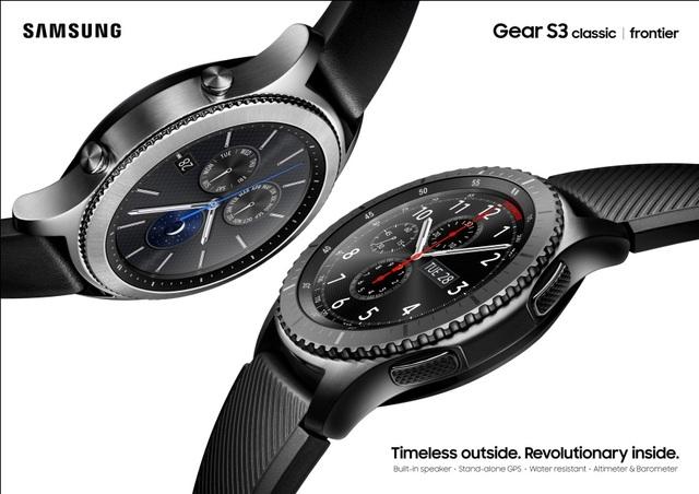 Giải mã sức hút của Samsung Gear S3 - 1