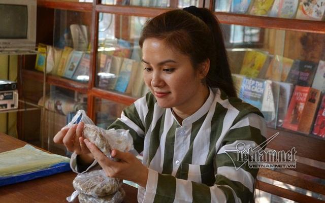 Và một Trần Thị Quỳnh Trang vui vẻ sau khi trải lòng
