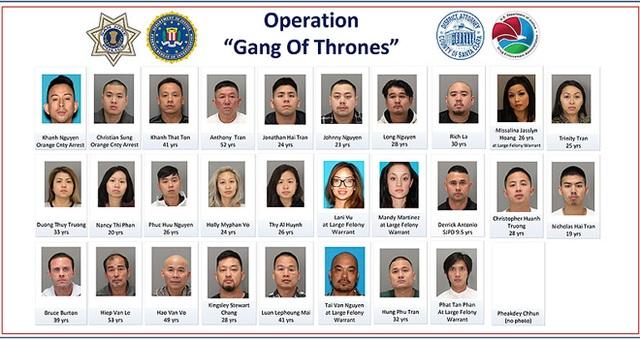 Cảnh sát Mỹ triệt phá tổ chức tội phạm gốc Việt - 3
