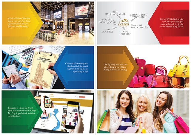 Trung tâm sỉ - lẻ cao cấp và trực tuyến Golden Plaza sẽ mở đặt chỗ vào ngày 20/9 tới với nhiều ưu đãi hấp dẫn.