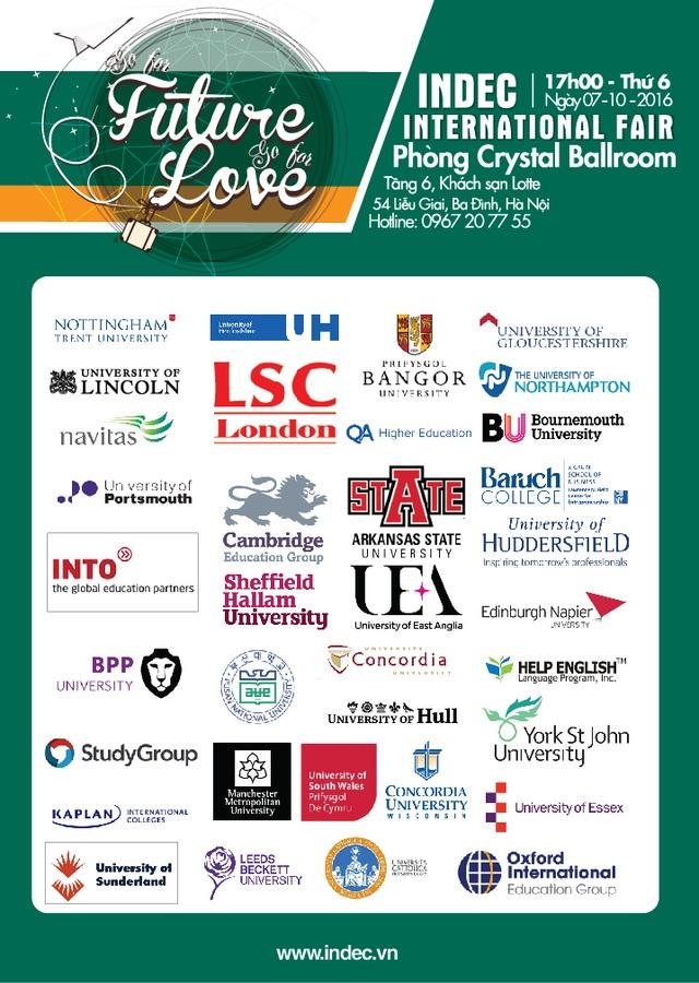 Những Trường Đại học và Tổ chức Giáo dục tham dự Triển lãm