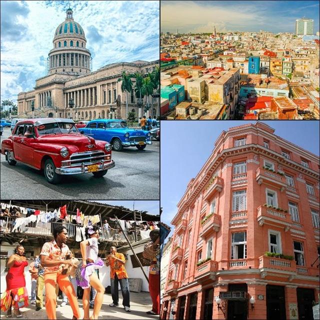 Hãy cùng Vietrantour khám phá những sắc màu của Cuba tại thành phố kỳ quan La Habana