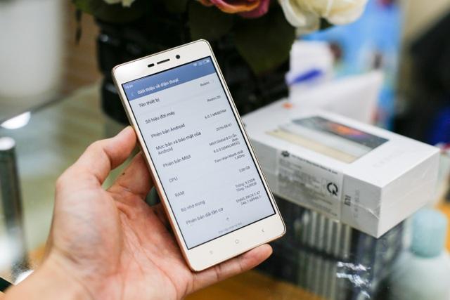 Xiaomi Redmi 3s được cho là có cấu hình khủng so với các sản phẩm cùng tầm giá