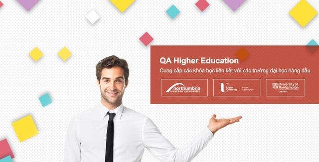 Đại học Northumbria thuộc tập đoàn giáo dục QA Higher Education cung cấp chương trình thực tập hưởng lương hệ thạc sĩ cho tất cả các sinh viên theo học.