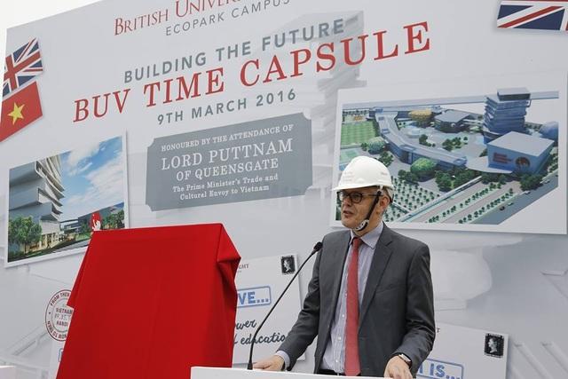 Trường đại học Anh quốc Việt Nam (BUV) sẽ đi vào hoạt động từ năm 2017.