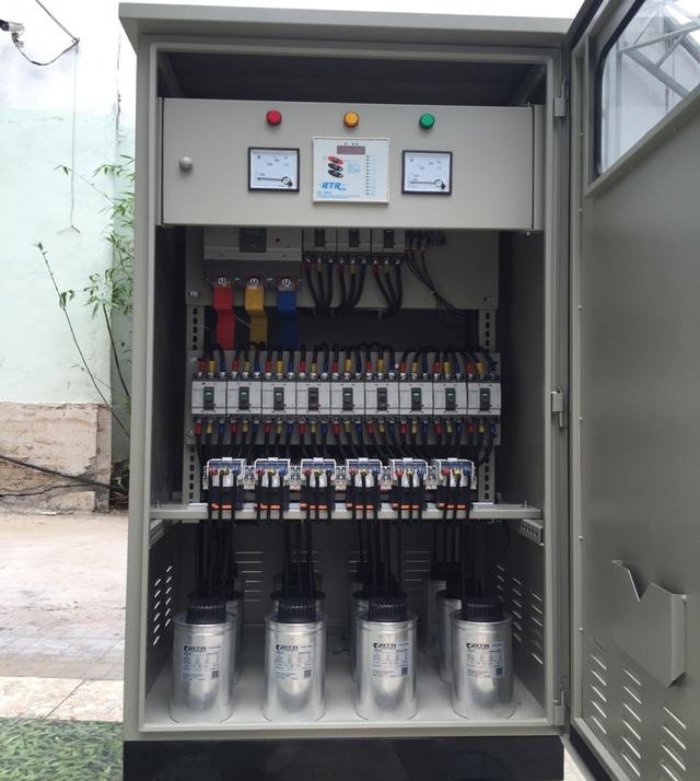 Tủ Tụ Bù RTR – Tây Ban Nha - 300Kvar – Lắp tại KCN VSIP 2