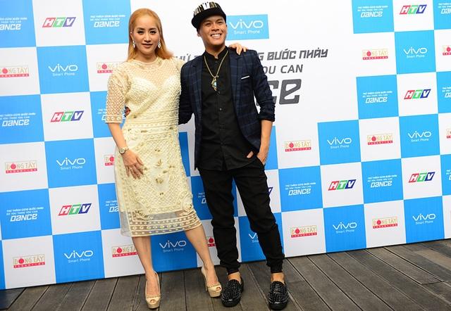Khánh Thi và John Huy Trần - hai giám khảo chính của Thử Thách Cùng Bước Nhảy 2016