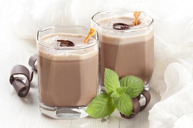 Tuy ngọt nhưng sữa sô cô la lại cực kì tốt cho người giảm cân