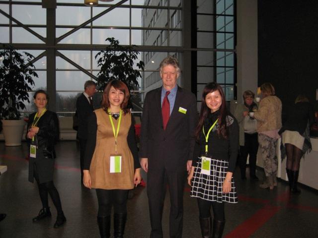 đại diện HCV đến tham dự đại hội Agent quốc tế và thăm trường đại học Saxion