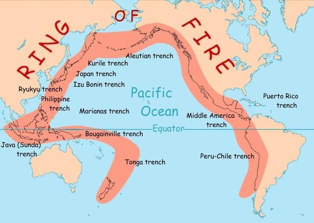 Vành đai lửa Thái Bình Dương