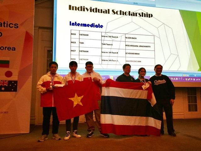 Học sinh Hoàn Kiếm lập kỉ lục tại kì thi Vô địch các đội tuyển Toán quốc tế WMTC 2016 - 2
