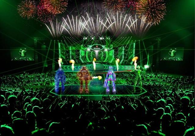 Bốn Siêu Robot Âm nhạc đã sẵn sàng bùng nổ cùng khán giả chạm đến những trải nghiệm âm nhạc đỉnh cao
