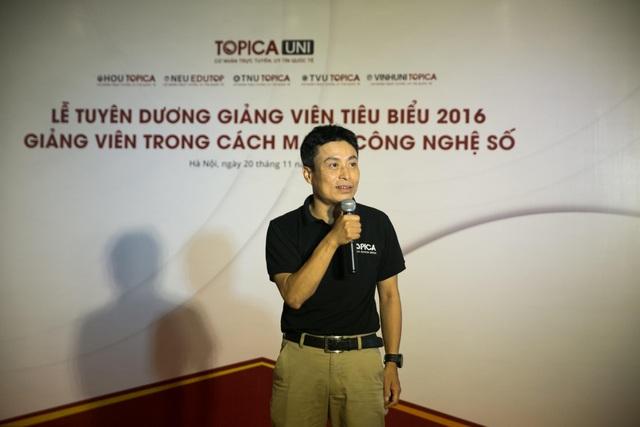 Thầy Nguyễn Thành Trung - PGĐ Tổ hợp Công nghệ Giáo dục TOPICA chúc mừng các thầy cô nhân ngày 20/11