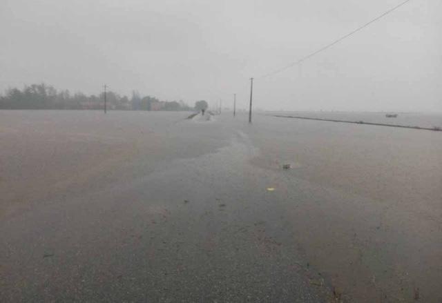 Ngập nặng tại xã Vinh Thái, huyện Phú Vang