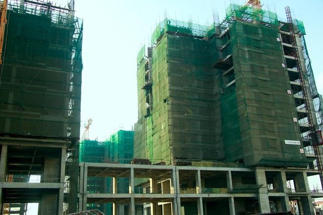 Cả 8 tòa căn hộ An Bình City đều vượt tiến độ thi công