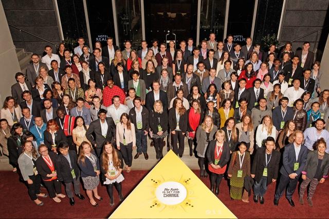Các nhà lãnh đại trẻ tham gia hội nghị Thanh niên về nông nghiệp toàn cầu tại Úc năm 2015