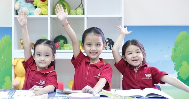 Chương trình học tiếng Anh áp dụng phương pháp phù hợp sẽ giúp trẻ mẫu giáo thẩm thấu Anh ngữ tự nhiên