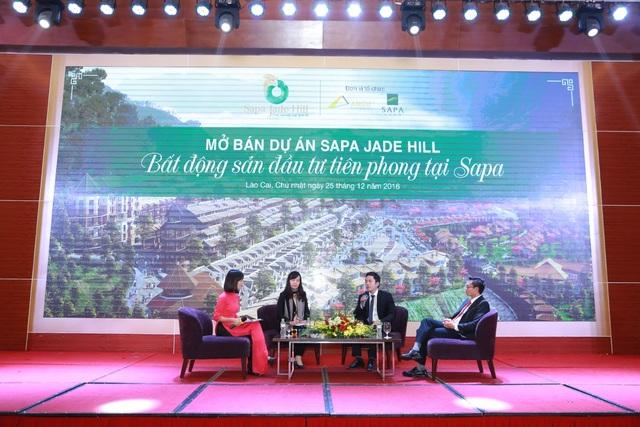 Tọa đàm tư vấn đầu tư tại sự kiện mở bán dự án Sapa Jade Hill