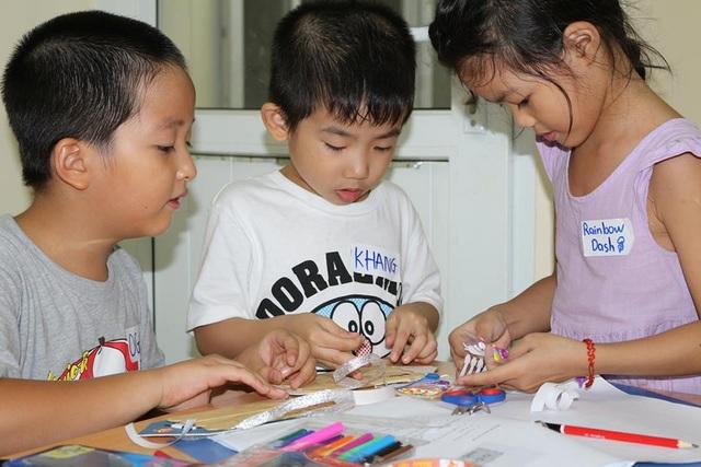 Trẻ em cần làm quen với các hoạt động sáng tạo từ sớm để kích thích tư duy