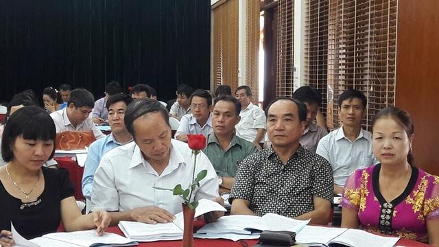 Các đại biểu Việt Nam tham dự hội nghị