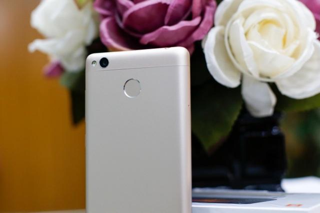 Xiaomi Redmi 3s sở hữu camera sau 13MP, camera trước 5MP