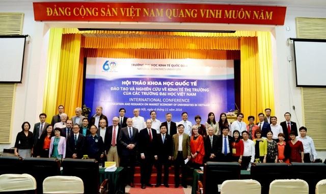 Các đại biểu quốc tế tham dự hội thảo