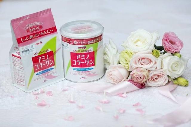 Được sản xuất bởi tập đoàn Meiji của Nhật Bản, Amino Collagen chứa chiết xuất 100% từ cá biển sâu tự nhiên với hàm lượng Collagen đạt chuẩn, được nghiên cứu lâm sàng, giúp làn da sáng mịn, hồng hào, ngăn ngừa lão hóa da hiệu quả. Sản phẩm dạng bột nên người dùng có thể pha cùng bất kỳ đồ ăn hoặc uống nào, hương vị thơm ngon, dễ uống. Đặc biệt, Amino Collagen có sự vượt trội về độ tinh khiết, không sử dụng chất bảo quản hay phụ gia nên an toàn tuyệt đối với sức khỏe người sử dụng.