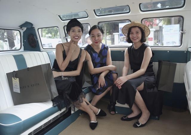 Các khách mời trải nghiệm thú vị trên chuyến xe Volkswagen