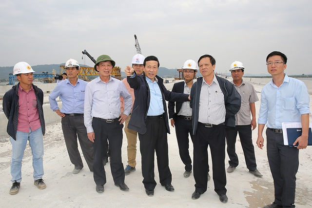Thông xe kỹ thuật cao tốc, đoạn Hạ Long - cầu Bạch Đằng, trong tháng 1/2017 - 4