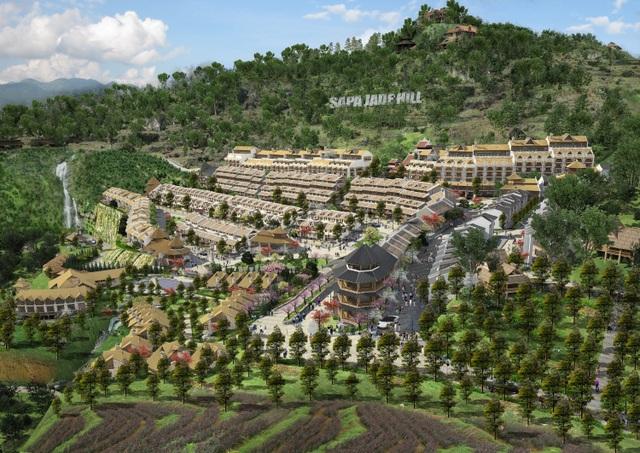 Phối cảnh dự án Sapa Jade Hill – Nguồn: http://jadehillsapa.vn/