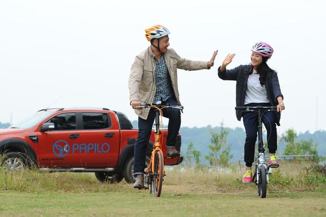 Du lịch bằng xe đạp có thể gặp gỡ nhiều người ở vùng mà ta đi đến, tạo mối quan hệ