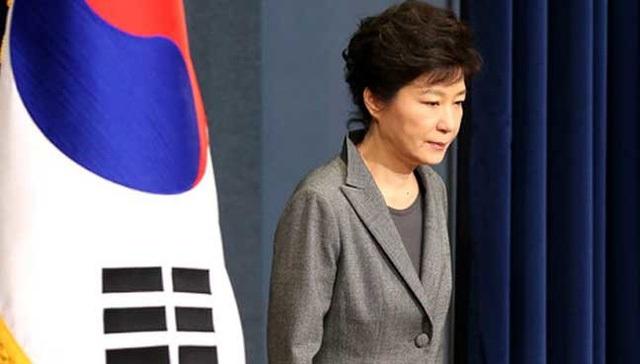 Tổng thống Hàn Quốc Park Geun-hye (Ảnh: AFP)