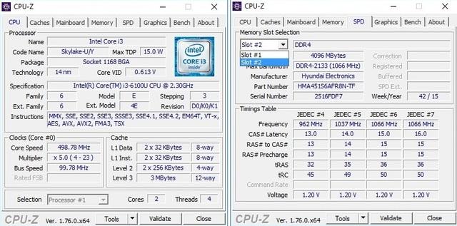 Phiên bản thấp nhất cũng được trang bị tới hai khe RAM DDR4