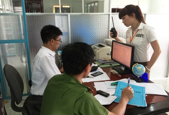 Cán bộ Trung tâm cai nghiện Xuân Phú và lực lượng Công an đang tổng hợp danh sách các học viên bỏ trốn được tìm thấy.