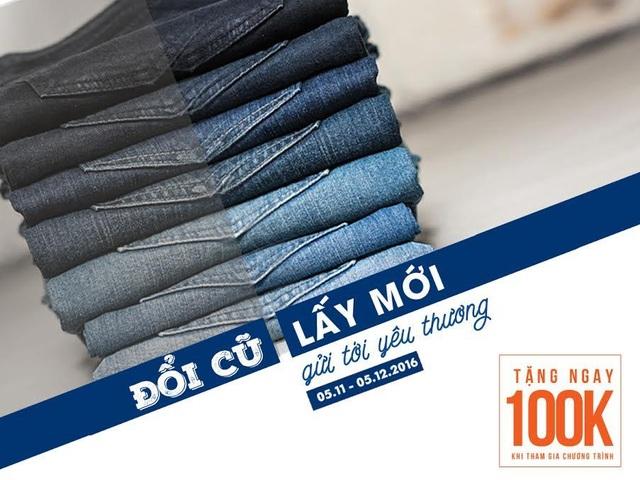 Cơ hội đổi Jeans cũ lấy Jeans mới ở Hà Nội - 4