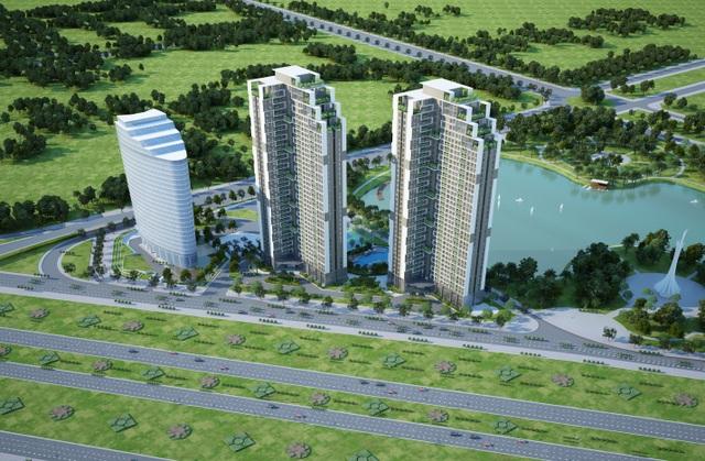 Hình ảnh dự án Mỹ Đình Pearl tại Hà Nội của tập đoàn SSG