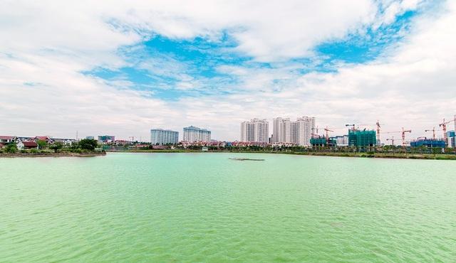 An Bình City sở hữu hồ điều hòa lớn nhất nội đô