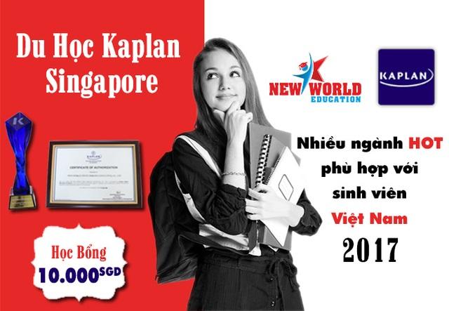 Hội thảo học bổng 10,000 SGD Kaplan Singapore 2017 và nhiều ngành HOT - 4