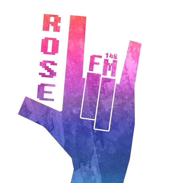 Logo của kênh phát thanh Rose FM