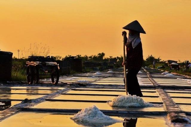Ngỡ ngàng với vẻ đẹp của những cánh đồng muối Việt Nam - 3